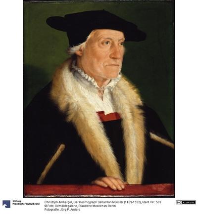 Der Kosmograph Sebastian Münster (1489-1552)