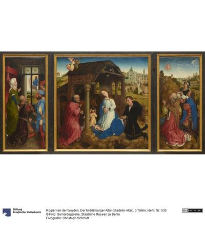 Der Middelburger Altar (Bladelin-Altar)