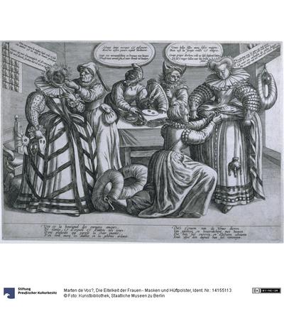 Die Eitelkeit der Frauen - Masken und Hüftpolster