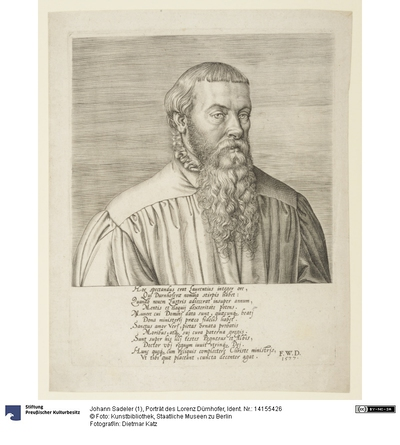 Porträt des Lorenz Dürnhofer