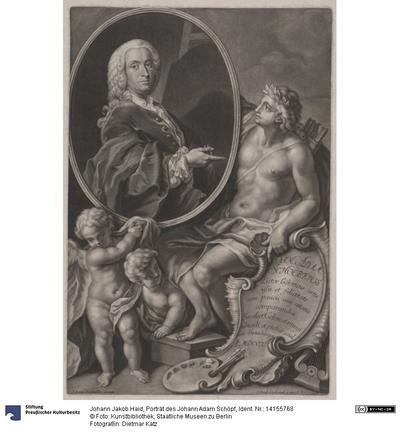 Porträt des Johann Adam Schöpf