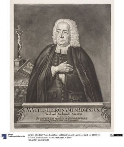 Porträt des Veit Hieronymus Regenfuss