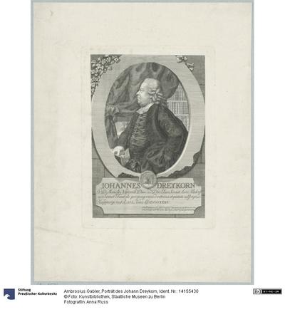 Porträt des Johann Dreykorn
