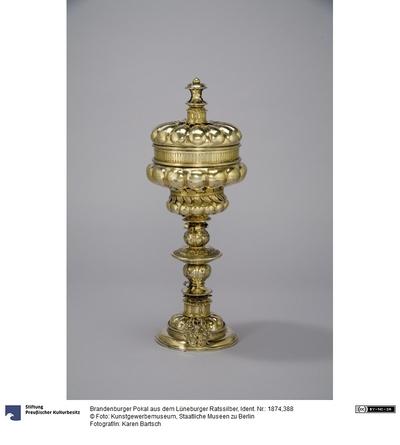 Brandenburger Pokal aus dem Lüneburger Ratssilber