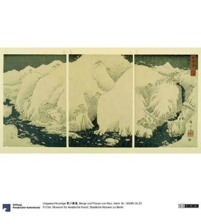 Berge und Flüsse von Kiso