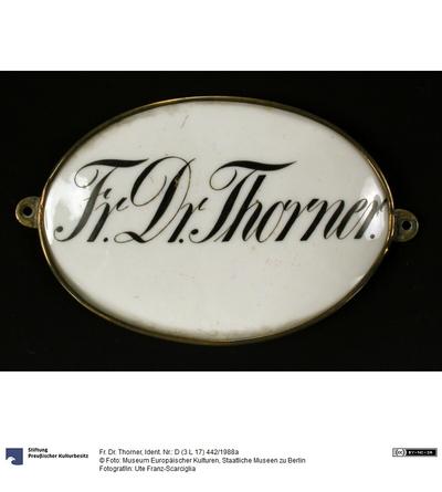 Fr. Dr. Thorner