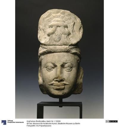 Kopf eines Bodhisattva