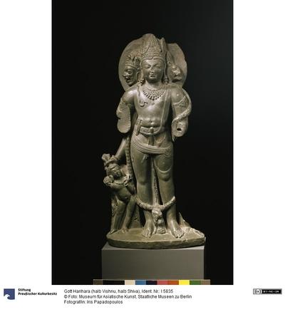 Gott Harihara (halb Vishnu, halb Shiva)
