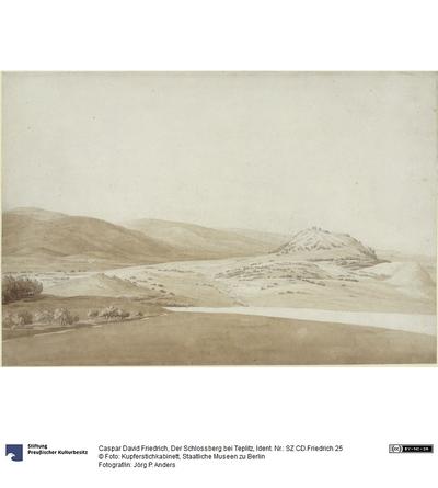 Der Schlossberg bei Teplitz