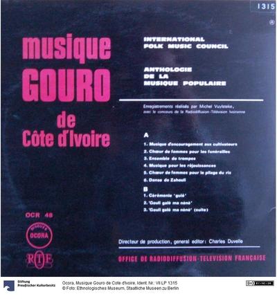 Musique Gouro de Cote d'Ivoire