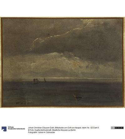 Blitzstudie am Golf von Neapel