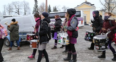 Drums In The Demonstration
