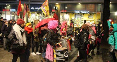 March for Women's Rights in Cologne: Wir nehmen uns die Nacht!