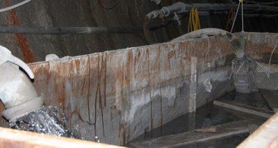 Stuttgart 21 XVIII: Water Pump at Tunnel Construction at Ulmer Straße
