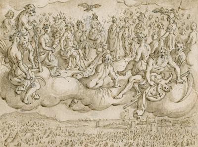 Aeneas' omzwervingen door Sebastiaan Vrancx