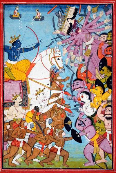 Ramayana in het Jubelparkmuseum - Unieke Indiase miniatuurkunst