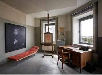 Atelierflat in Antwerpen: thuiskomen bij Jozef Peeters