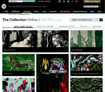 Metropolitan online