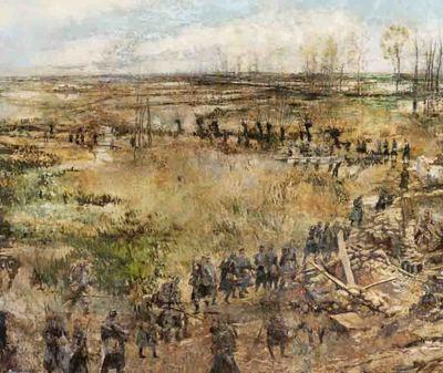 Hoogtepunt oorlogskunst in Nieuwpoort - IJzerpanorama ziet opnieuw het licht