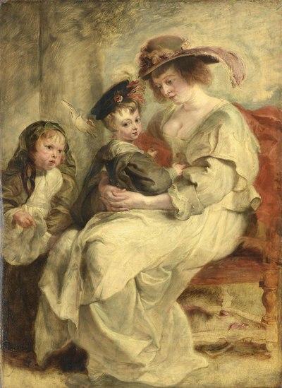 De meester portretteert zijn familie - Ten huize van P.P. Rubens