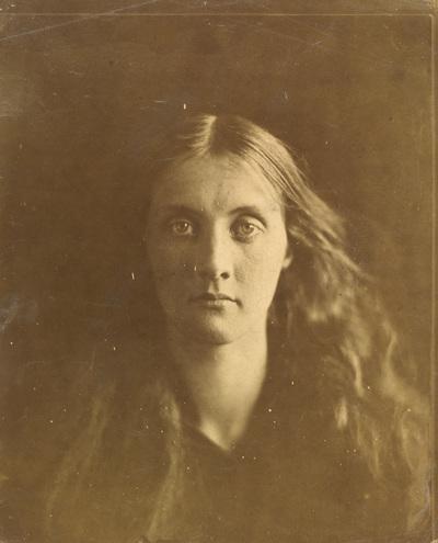 Een gefocuste dame - Julia Margaret Cameron