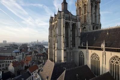 De Onze-Lieve Vrouwekathedraal in Antwerpen
