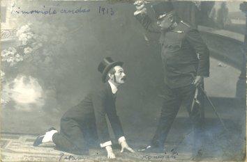 portrét hercov, Pataky, Komjáthy