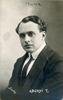 portrét herca, Abonyi T.