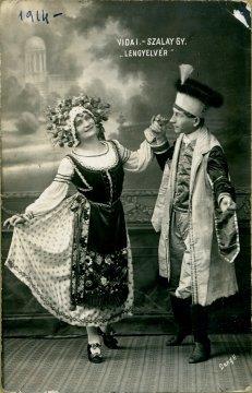portrét hercov, Gyula Szalay a Vida I.
