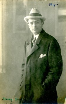 portrét herca, Erno Bérczy