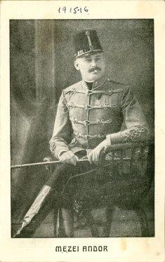 portrét herca, Andor Mezei