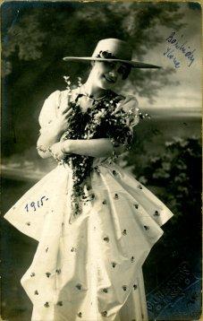 portrét herečky, Ilone Bánhidy