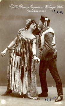 portrét hercov, Donna Eugenia a Kornyei Béla