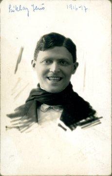 portrét herca, Sziklay Jeno