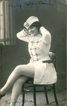 portrét herečky, Klári Kohári