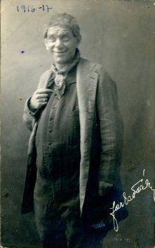 portrét herca, Farkas Pali