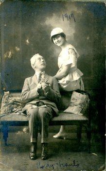 portrét hercov, Holdy - Szantó