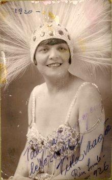 Gyori a Boros, Košice, portrét herečky, Margit Viola