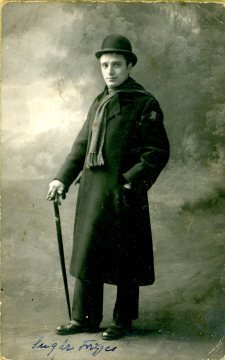 Gyori a Boros, Košice, portrét herca, Sugár Frigyes