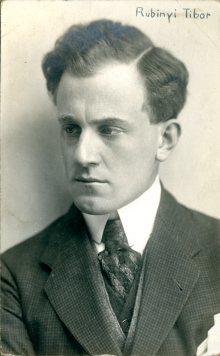 portrét herca, Rubinyi Tibor