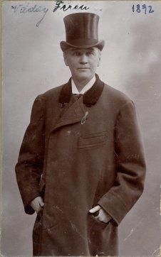 portrét herca, Ferencz Váday