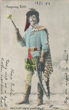 portrét herca, Emil Fenyvesi