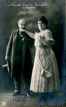 portrét hercov, Jozef Németh a Nyárayné