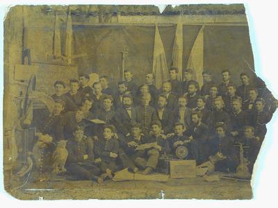 Випуск на мъжката реална гимназия в град Николаев