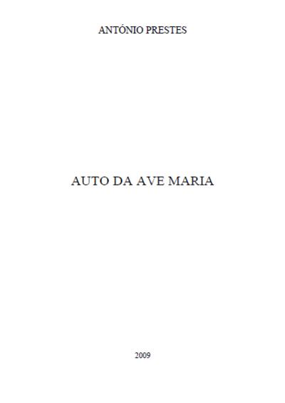 Auto da Ave Maria: [transcrição]