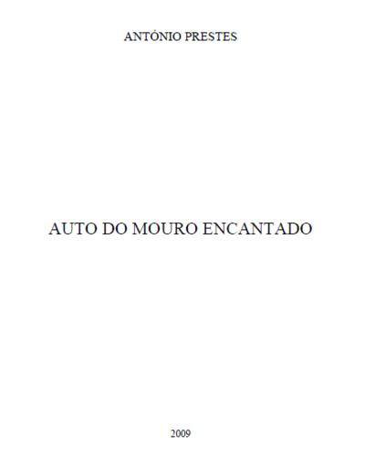 Auto do Mouro Encantado: [transcrição]