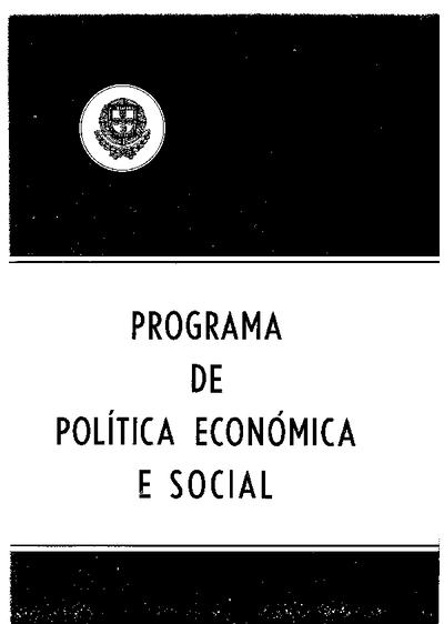 Programa de política económica e social