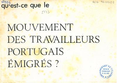Mouvement des travailleurs portugais émigrés?