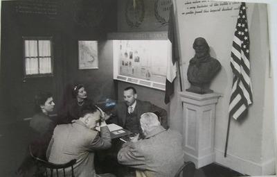 Foto di una riunione, Casa Museo Meucci-Garibaldi, New York