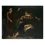 Jacob zegent de kinderen van Jozef